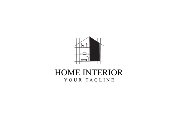 Print on Demand: Home Renovation Logo Design Graphic Logos By sabavector