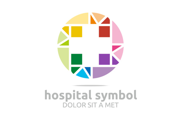 Hospital Symbol Logo Graphic Logos By Acongraphic