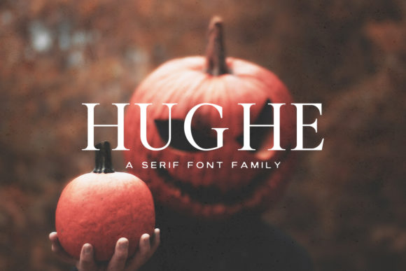 Print on Demand: Hughe Family Serif Font By Creative Tacos