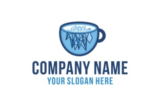 Download Free Ice Coffee Logo Graphic By Yahyaanasatokillah Creative Fabrica for Cricut Explore, Silhouette and other cutting machines.