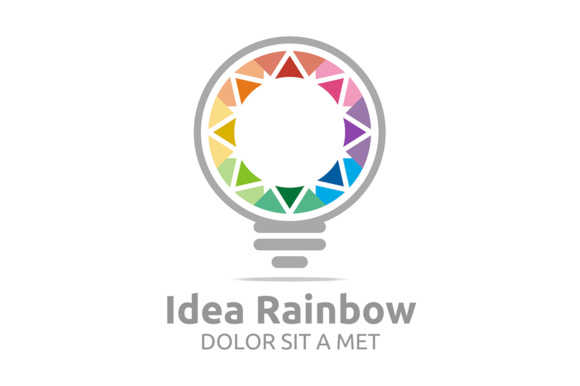 Idea Rainbow Graphic By Acongraphic