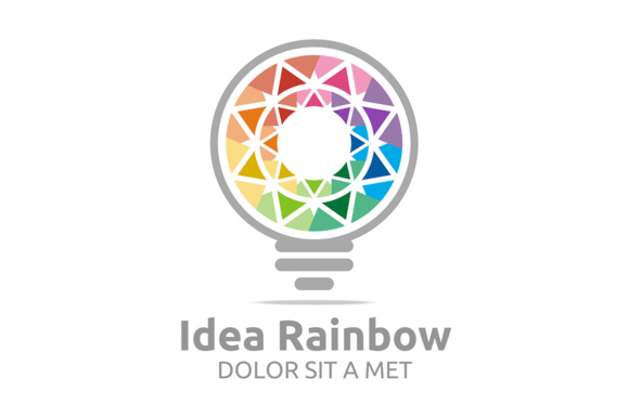 Idea Rainbow Grafik Logos von Acongraphic