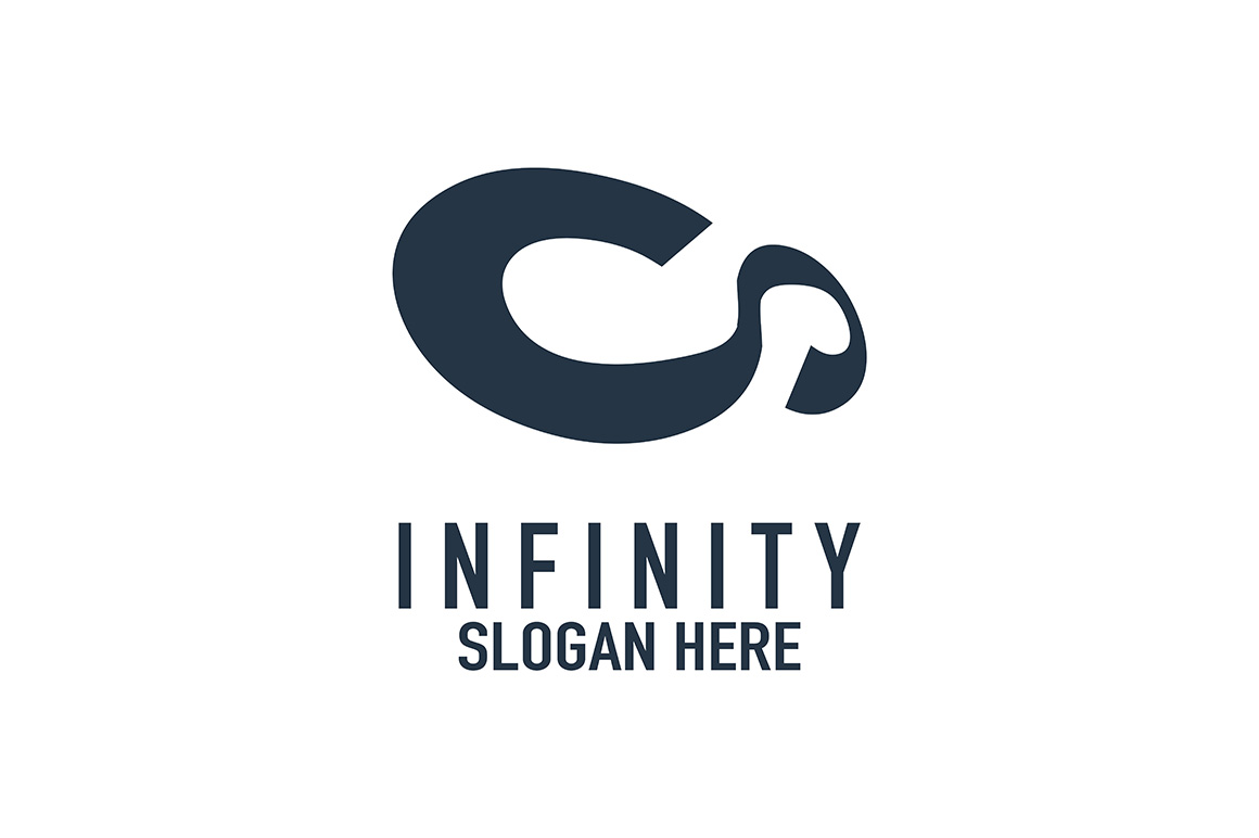 Download Free Infinity Logo Graphic By Thehero Creative Fabrica for Cricut Explore, Silhouette and other cutting machines.