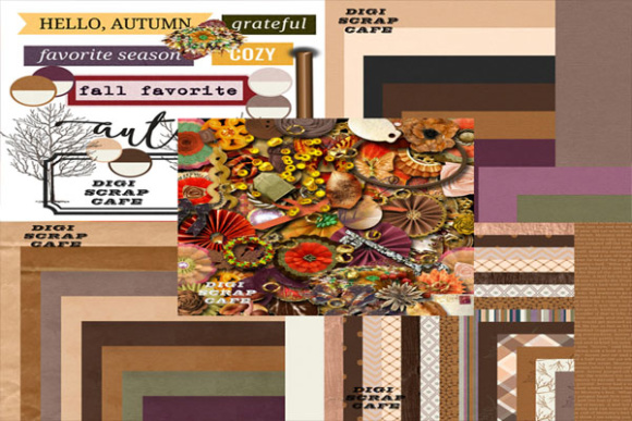 Into Fall Autumn Graphics Bundle Graphic By Sojournstar Image 1