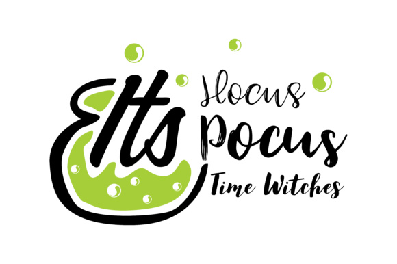 Print on Demand: It's Hocus Pocus Time Witches Graphic Crafts By TheLucky