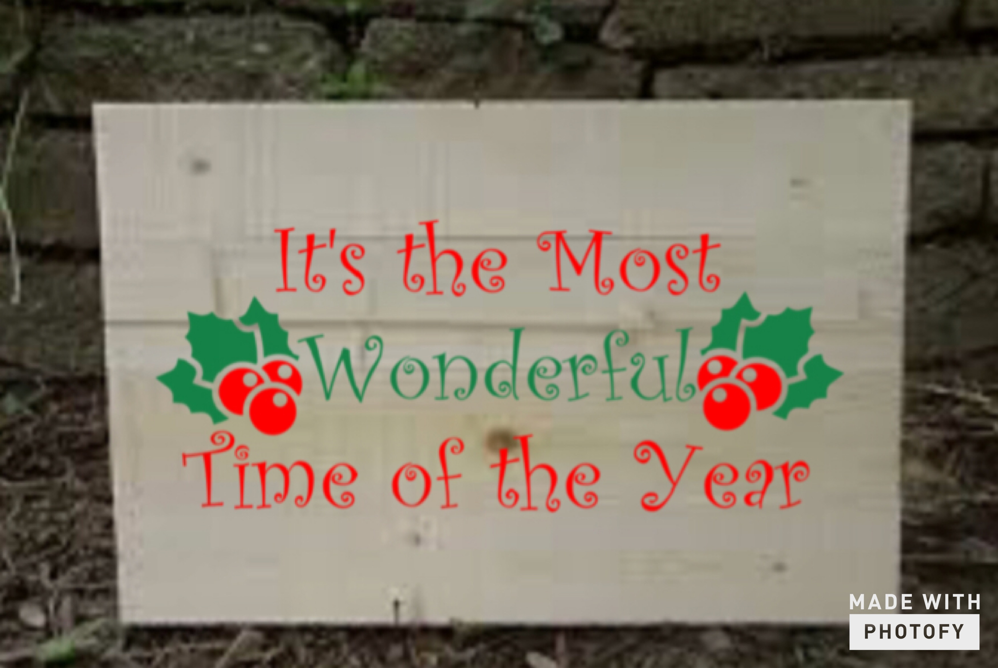 Download Free It S The Most Wonderful Time Of The Year Svg Graphic By Britt S for Cricut Explore, Silhouette and other cutting machines.
