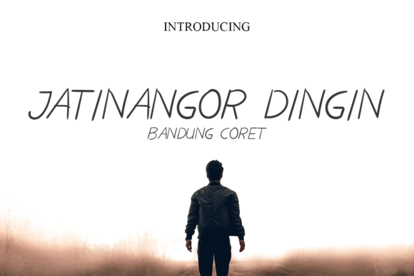 Print on Demand: Jatinangor Dingin Script & Handwritten Font By agniardii