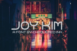 Joy Kim Font By Chequered Ink