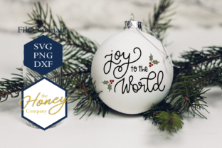Joy To The World Svg Graphic By The Honey Company Creative Fabrica