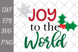 Download Free Joy To The World Svg Christmas Svg Graphic By for Cricut Explore, Silhouette and other cutting machines.