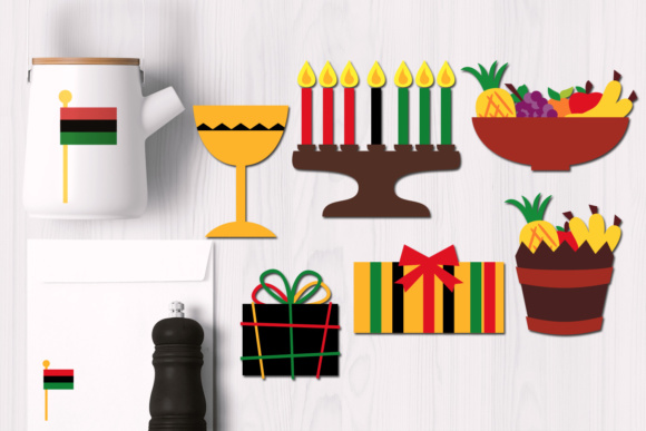Print on Demand: Kwanzaa Celebration Graphic Illustrations By Revidevi