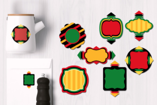 Kwanzaa Frames Graphic By Revidevi