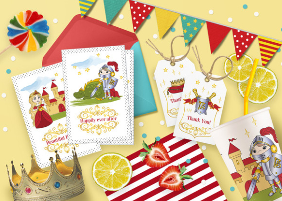 LITTLE KING Color Vector Illustration Set Graphic Illustrations By FARAWAYKINGDOM - Image 2