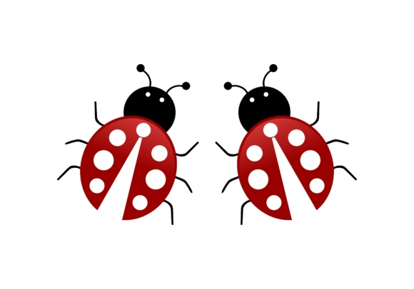 Download Free Ladybug Animal Logo Graphic By Deemka Studio Creative Fabrica for Cricut Explore, Silhouette and other cutting machines.