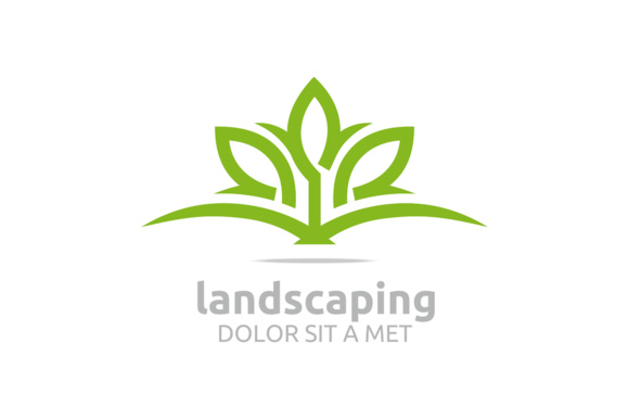Landscaping Graphic Logos By Acongraphic