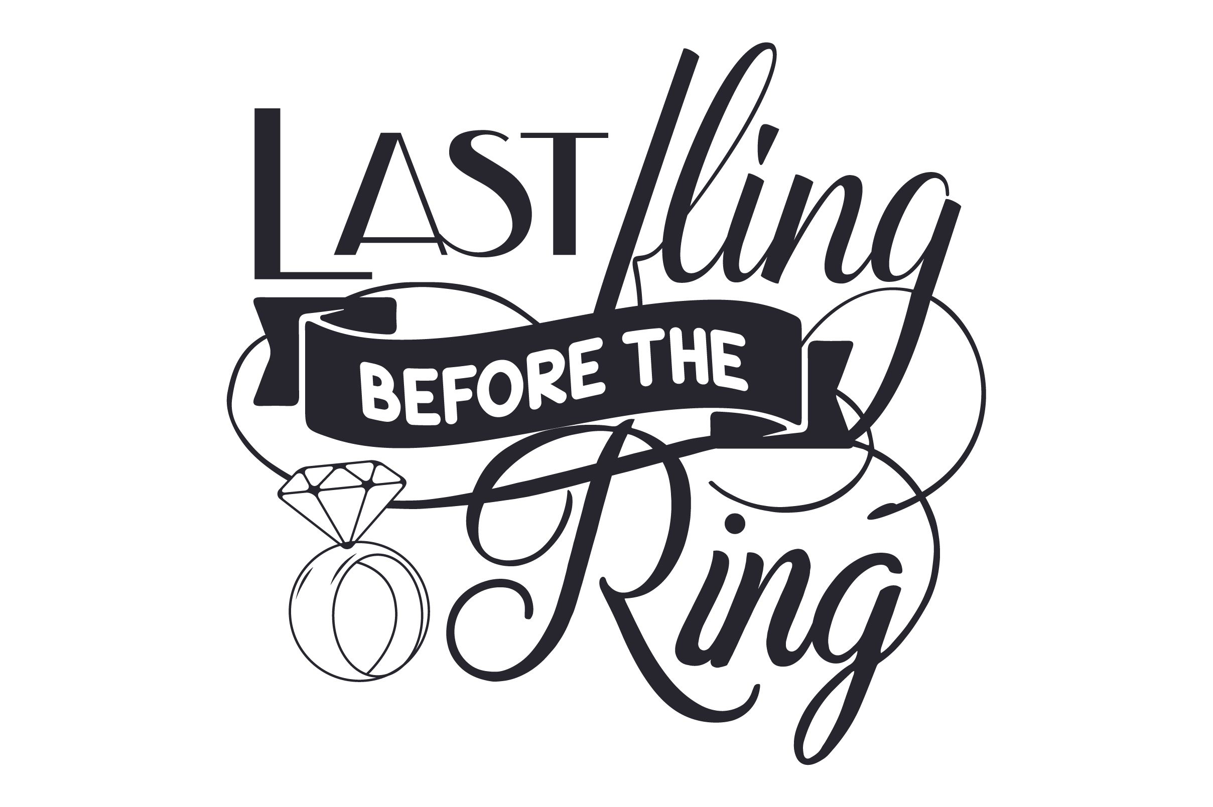 Download Free Last Fling Before The Ring Archivos De Corte Svg Por Creative for Cricut Explore, Silhouette and other cutting machines.