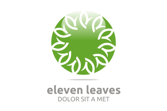 Leaf Ecology Graphic Logos By Acongraphic