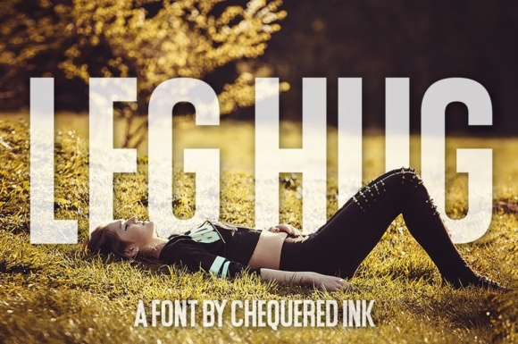 Print on Demand: Leg Hug Sans Serif Font By Chequered Ink