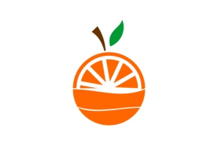 Download Free Lemon Orange Fruit Logo Graphic By Deemka Studio Creative Fabrica for Cricut Explore, Silhouette and other cutting machines.