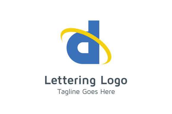 Letter D Logo Graphic Logos By Acongraphic