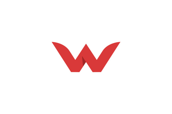 Letter W Graphic Logos By Friendesigns