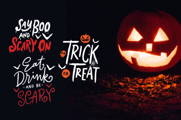 Lettering Halloween SVG Cut File Graphic By Weape Design Image 2