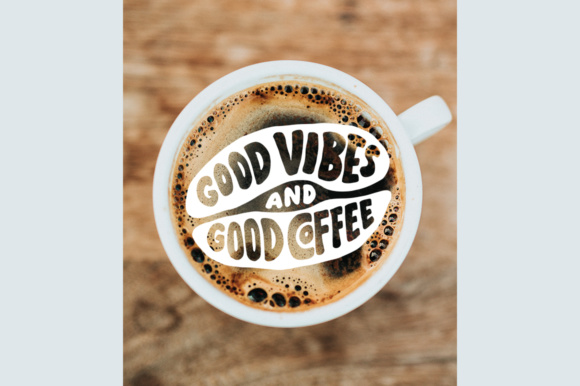 Download Free Lettering Quotes In The Coffee Beans Shape Graphic By Weape Design Creative Fabrica for Cricut Explore, Silhouette and other cutting machines.