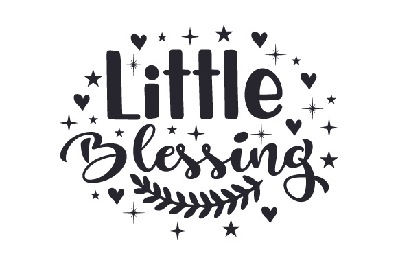 Little Blessing Baby Craft Cut File By Creative Fabrica Crafts - Image 2