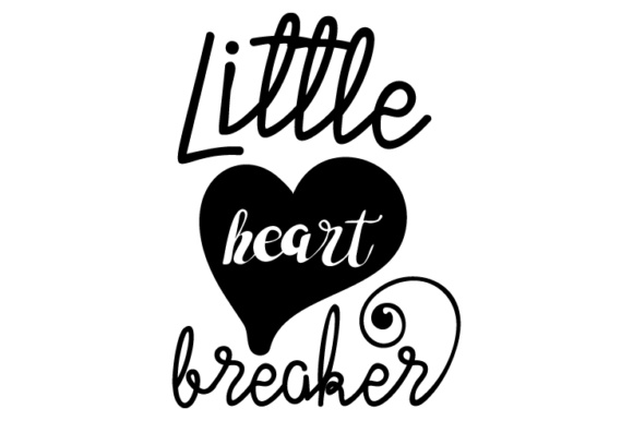 Download Free Little Heart Breaker Svg Cut File By Creative Fabrica Crafts for Cricut Explore, Silhouette and other cutting machines.