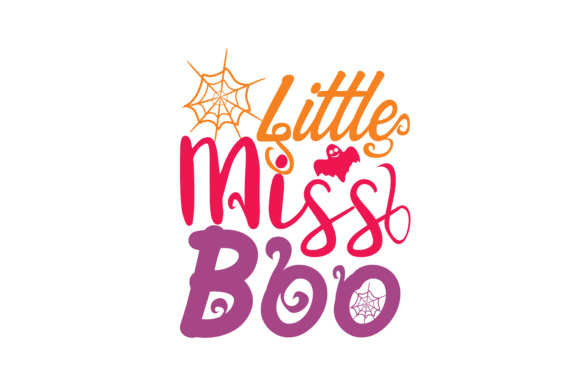 Print on Demand: Little Miss Boo Graphic Crafts By TheLucky