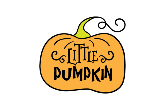 Download Free Little Pumpkin Svg Cut File By Creative Fabrica Crafts for Cricut Explore, Silhouette and other cutting machines.