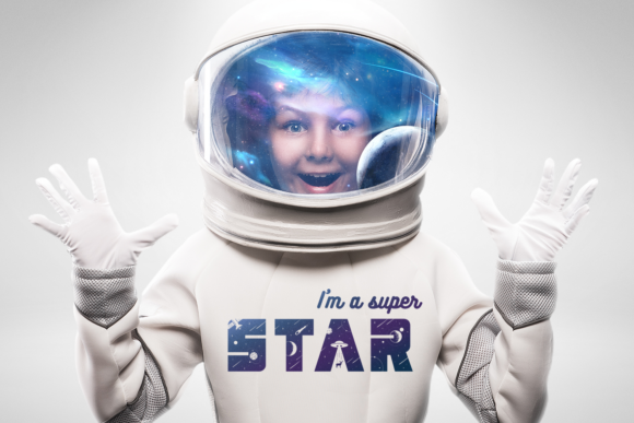 Print on Demand: Lost in Space Color Fonts Font By Cosmic Store - Image 4