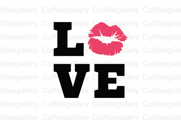 Download Free Love Kiss Lip Svg Graphic By Cutfilesgallery Creative Fabrica for Cricut Explore, Silhouette and other cutting machines.