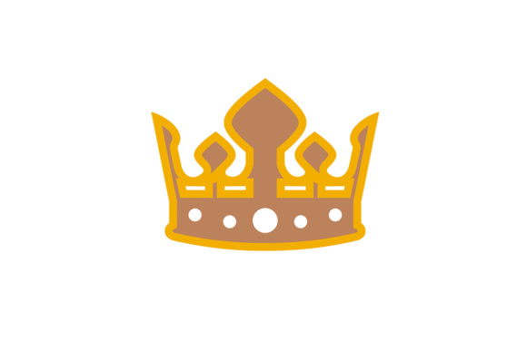 Luxury Crown Design Graphic Logos By Friendesigns