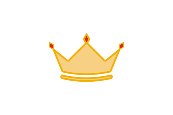 Luxury Crown Design Gráfico Logos Por Friendesigns