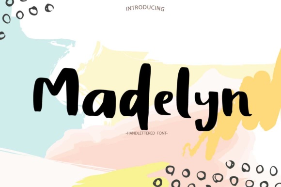 Print on Demand: Madelyn Script & Handwritten Font By PaulaType