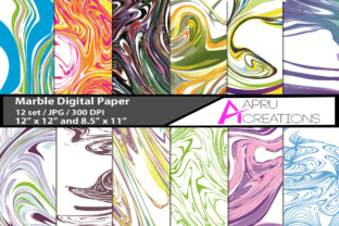 Marble Papers, Marble Pattern, Marble Backgrounds Graphic By aparnastjp