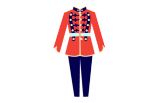 Marching Band Uniform Craft Design By Creative Fabrica Crafts