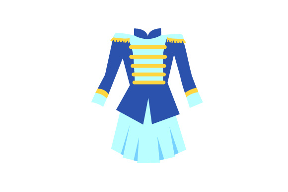 Download Free Marching Band Uniform Svg Cut File By Creative Fabrica Crafts for Cricut Explore, Silhouette and other cutting machines.
