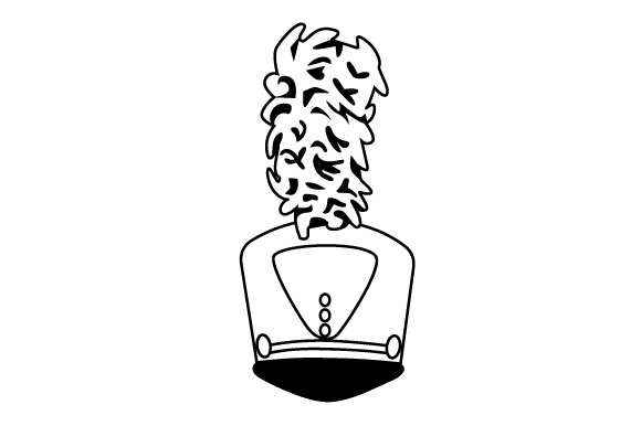 Download Free Marching Band Uniform Hat Svg Cut File By Creative Fabrica for Cricut Explore, Silhouette and other cutting machines.