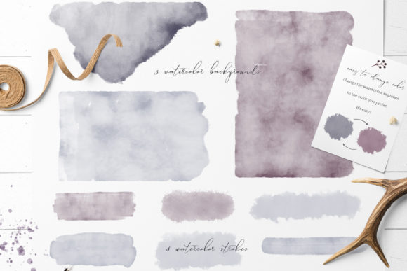 Marena Watercolor Swatches Graphic Backgrounds By Creative Fabrica Freebies - Image 2