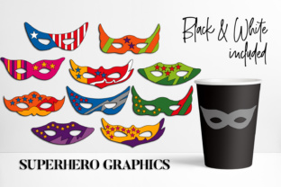 Download Free Mask Superhero Graphic By Darrakadisha Creative Fabrica for Cricut Explore, Silhouette and other cutting machines.