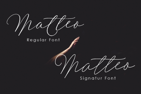 Download Free Matteo Duo Font By Polem Creative Fabrica for Cricut Explore, Silhouette and other cutting machines.
