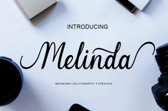 Print on Demand: Melinda Script & Handwritten Font By art design