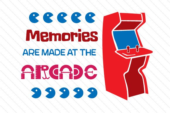 Memories Are Made at the Arcade Summer Craft Cut File By Creative Fabrica Crafts