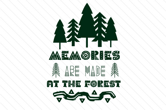 Memories Are Made at the Forest Summer Craft Cut File By Creative Fabrica Crafts - Image 2