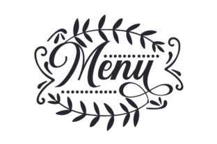 Menu Food & Drinks Craft Cut File By Creative Fabrica Crafts