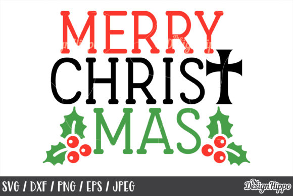 Merry Christmas SVG Bundle Graphic By thedesignhippo Image 11