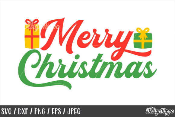 Merry Christmas SVG Bundle Graphic By thedesignhippo Image 3