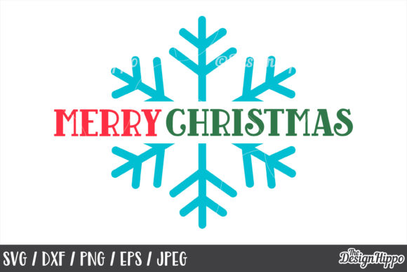 Merry Christmas SVG Bundle Graphic By thedesignhippo Image 6